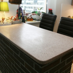 Teracinio betono stalviršis