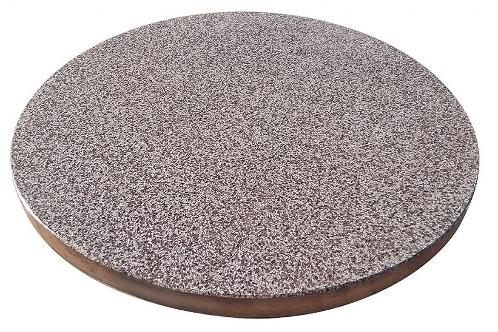 Mozaikinio betono, teraco šulinio dangčiai - Veikta gaminys